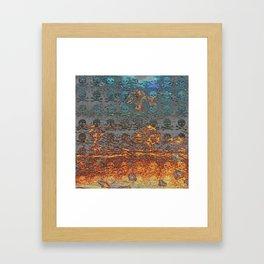 Dead Frost Skulls Framed Art Print