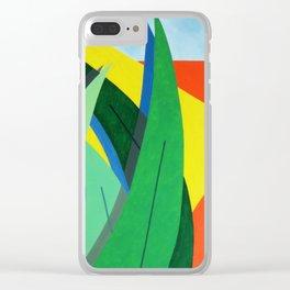 Plantain - Paint Clear iPhone Case