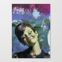 Happy :) Canvas Print