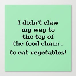 Top Of The Food Chain Canvas Print