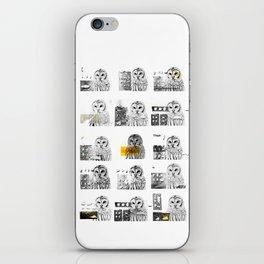 Owls iPhone Skin