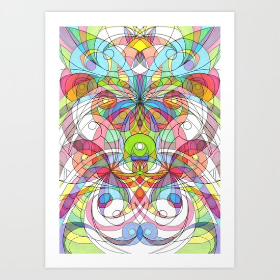 Ethnic Style G29 Art Print