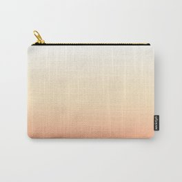 Peach Gradient Carry-All Pouch