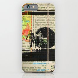 Rauschenberg Rumble (for Hip Kidds) iPhone Case