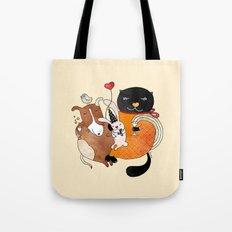 Celebrate Animals Tote Bag