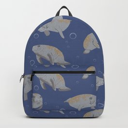 Manatees and Bubbles Backpack
