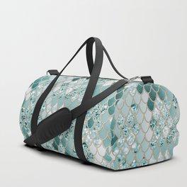 Mermaid Glitter Scales #3 #shiny #decor #art #society6 Duffle Bag