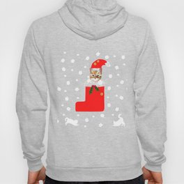 Christmas Kitten Patten Hoody