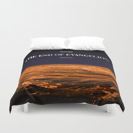 Movie Poster: The End of Evangelion Duvet Cover