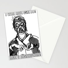 I will not eat IT! Stationery Cards