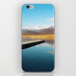 Bridge into nature iPhone Skin