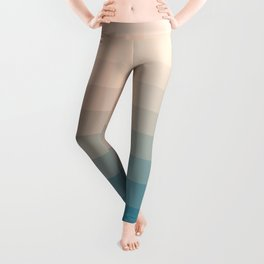 Lumen, Turquoise and Pink Glow Leggings