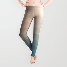 Lumen, Turquoise and Pink Glow Leggings