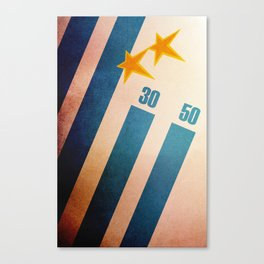 Uruguay World Cup Canvas Print