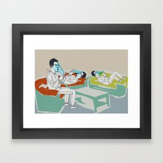smart ZOMBIE series-3 Framed Art Print