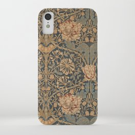 Honeysuckle by William Morris 1876 Antique Vintage Pattern, CC0 Spring Summer iPhone Case
