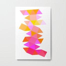 Prismatic Origin Metal Print