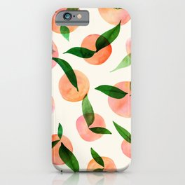 Summer Fruit Pattern iPhone Case