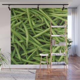 Green Beans Wall Mural