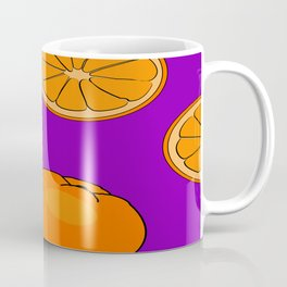 Orange fruit pattern Coffee Mug