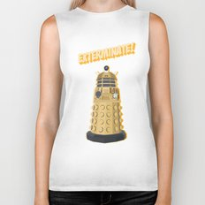 Dalek Doctor Who Biker Tank