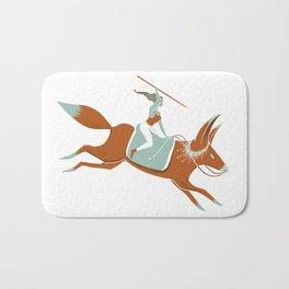 Fox Rider Bath Mat