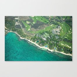 Hawaii Coast Canvas Print