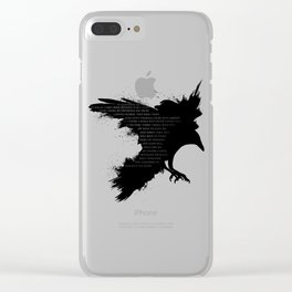 I Welcome The Valkyries Clear iPhone Case