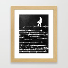 Balancing Act Framed Art Print