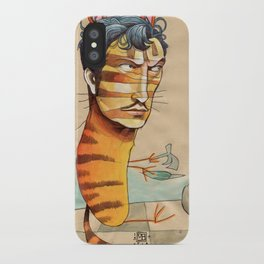 EASY, TIGER iPhone Case
