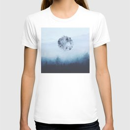 Watercolor Moon T-shirt