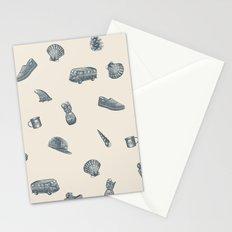 Sur la Plage Stationery Cards
