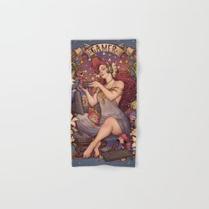 Gamer girl Nouveau Hand & Bath Towel