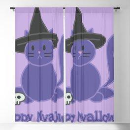 Happy Nyalloween Blackout Curtain