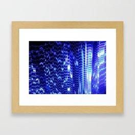ventilation system disintegration Framed Art Print
