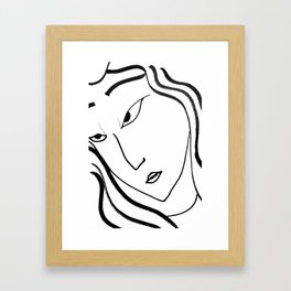 AMATERASU Framed Art Print