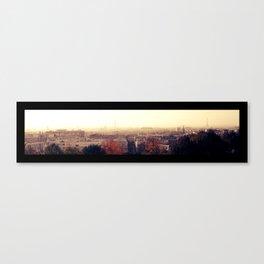 Paris silhouette Canvas Print