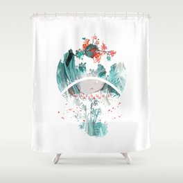 Nature Landscape form Water music Shower Curtain