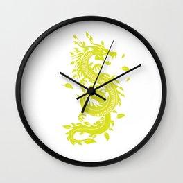 Dragon Yin-Yang Yoga Spring Japan Zen Gift Wall Clock