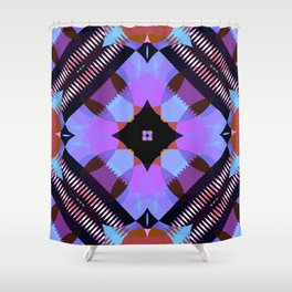 Kaleidoscope Pattern 1 Shower Curtain