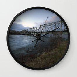 Latchford #3 Wall Clock