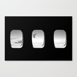 Window Seat Sky View Canvas Print