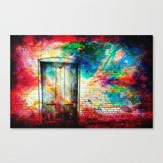 What Lies Beyond the Door Canvas Print