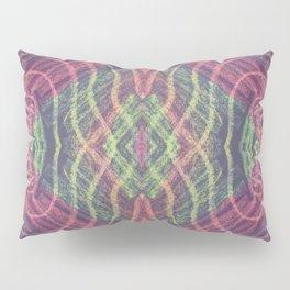 Abstract Shapes Reflect Pillow Sham