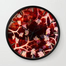 Blood Sky Wall Clock