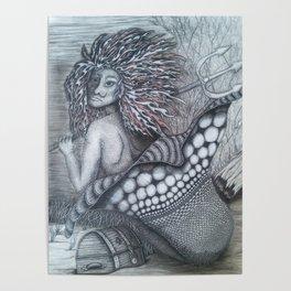 Guardian mermaid Poster