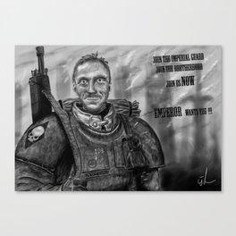 Emperor wants YOU! Canvas Print