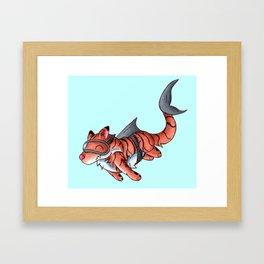 Tiger Shark Framed Art Print