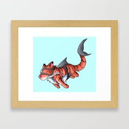 Tiger Shark Framed Art Print