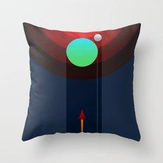 Invasion Throw Pillow